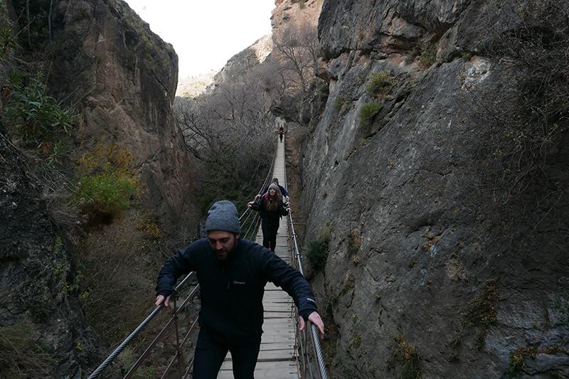 Cahorros Gorge
