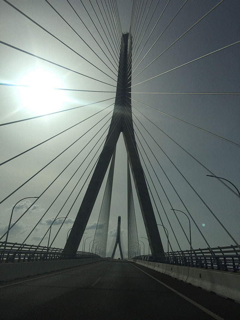 El puente de la Constitucion de 1812 (la Pepa)