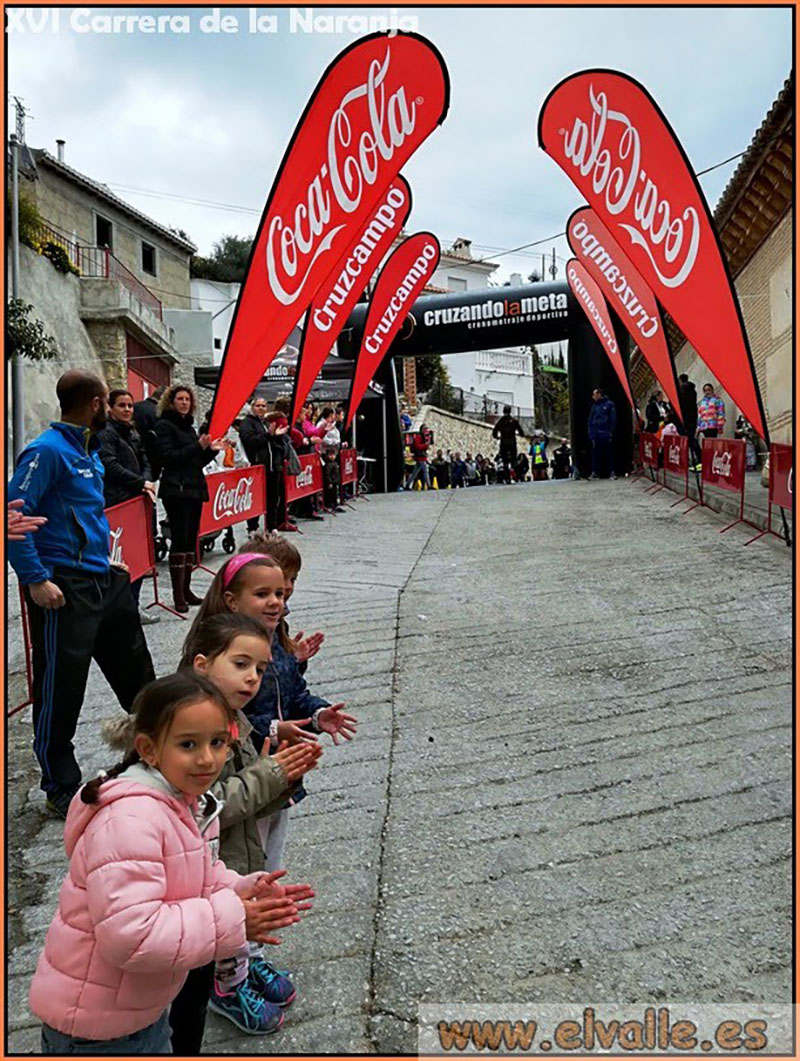 The Finish line! (photo by official el valle photographer)