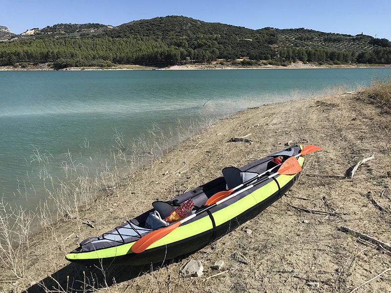 Kayak on Lake Colomera