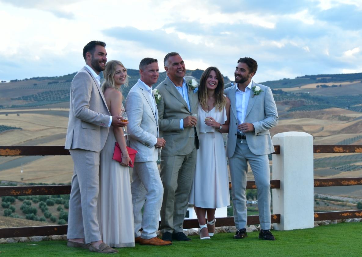 George, Lucie, Andrew, Ian, Hannah, James