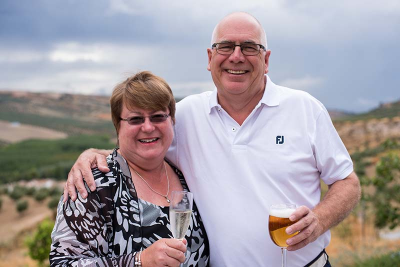Janet and Tony Rutter   ©️ Sam Milling