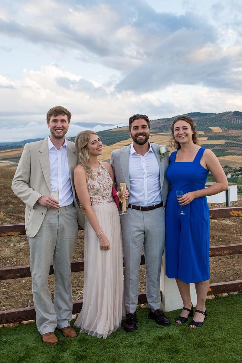 Charlie, Lucie, James, Mattie