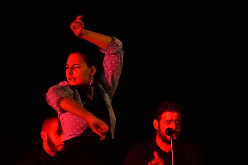 Natialie Salagola-Kaz flamenco dancer   ©️ Ant Cornish