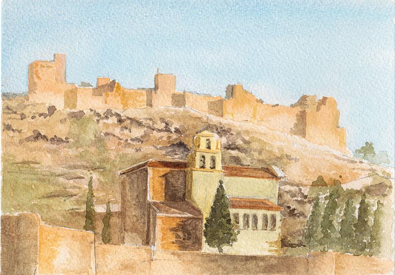 El Castillo de Moclín by Ian Rutter