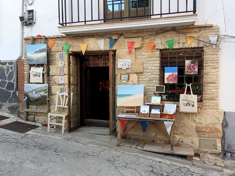 Our village pop up stall, Moclín