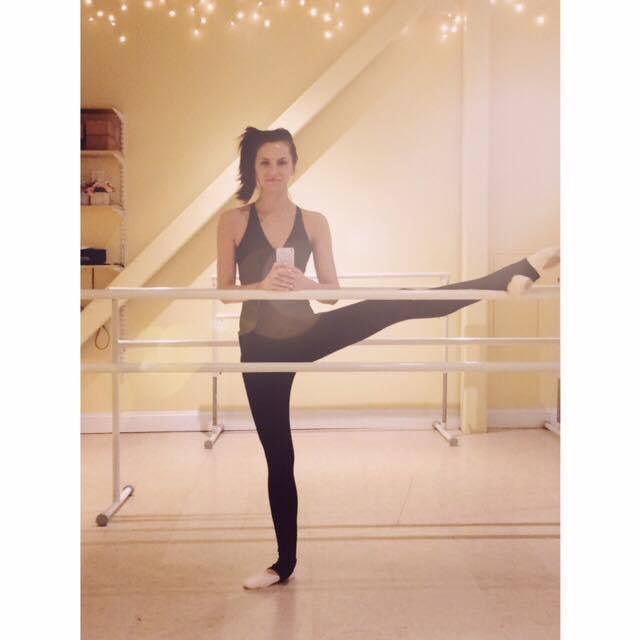 The barre is my happy place.