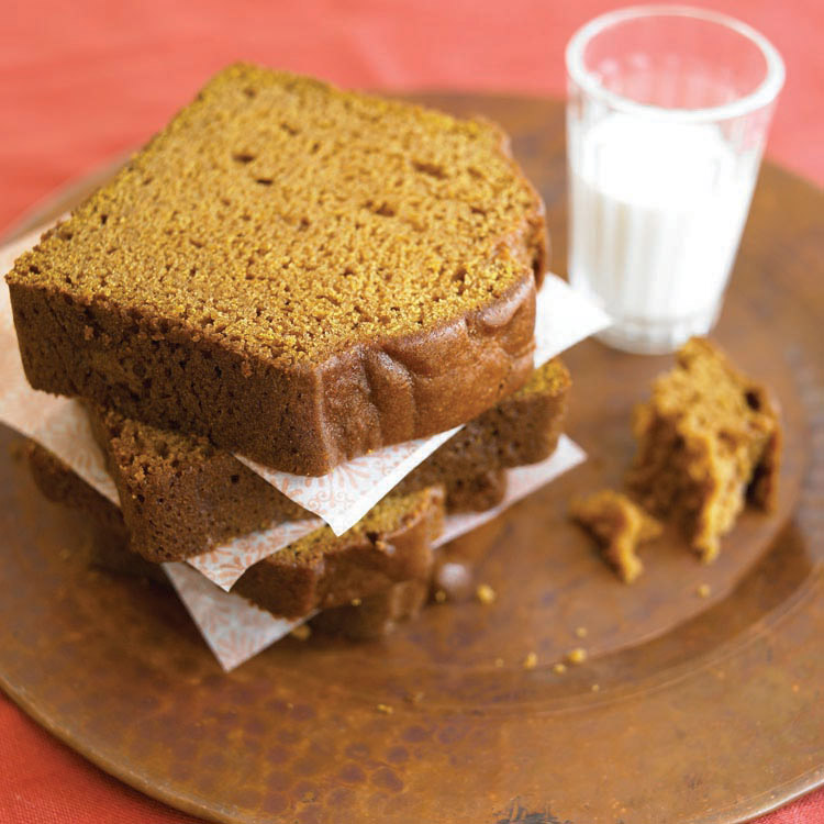 "there is nothing ""basic"" about the pumpkin bread at Henrietta's Table. // credit:  Henrietta's Table"