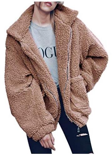 Shop  this cozy jacket.