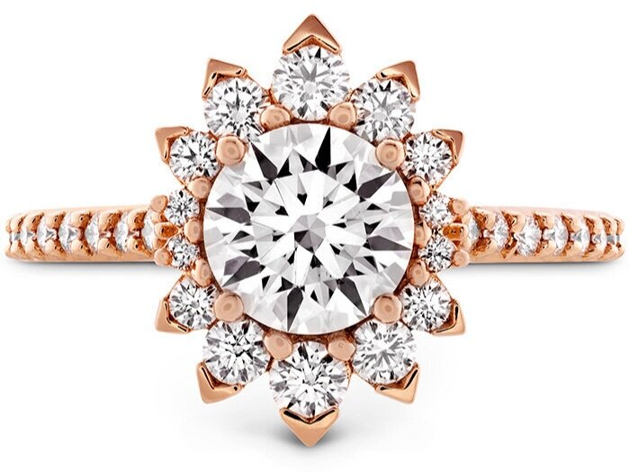 """Hayley Paige for Hearts On Fire """"Behati Say It Your Way Oval Engagement Ring"""""""