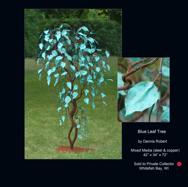 Dennis Robert-Blue Leaf Tree.jpg