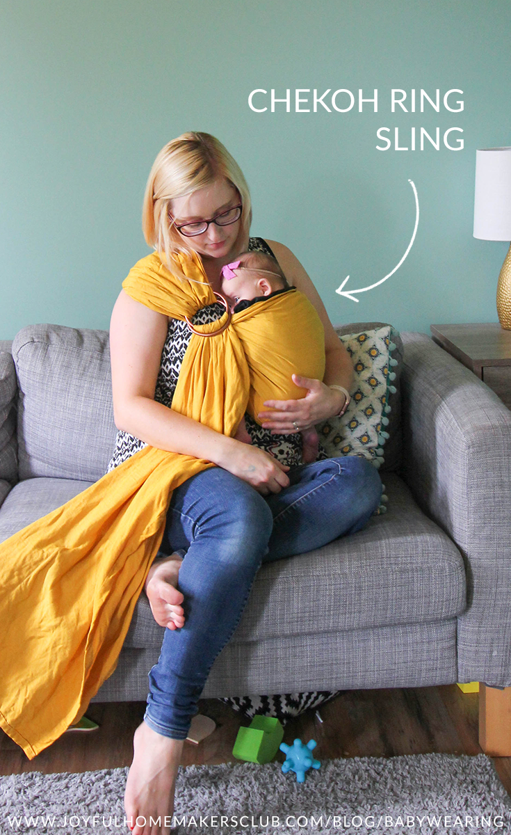 #sponsored meet the #Chekoh #ring #sling #baby #carrier #babywearing