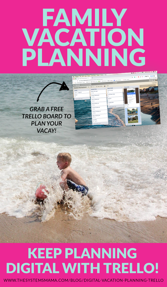 How to plan a family vacation in Trello!