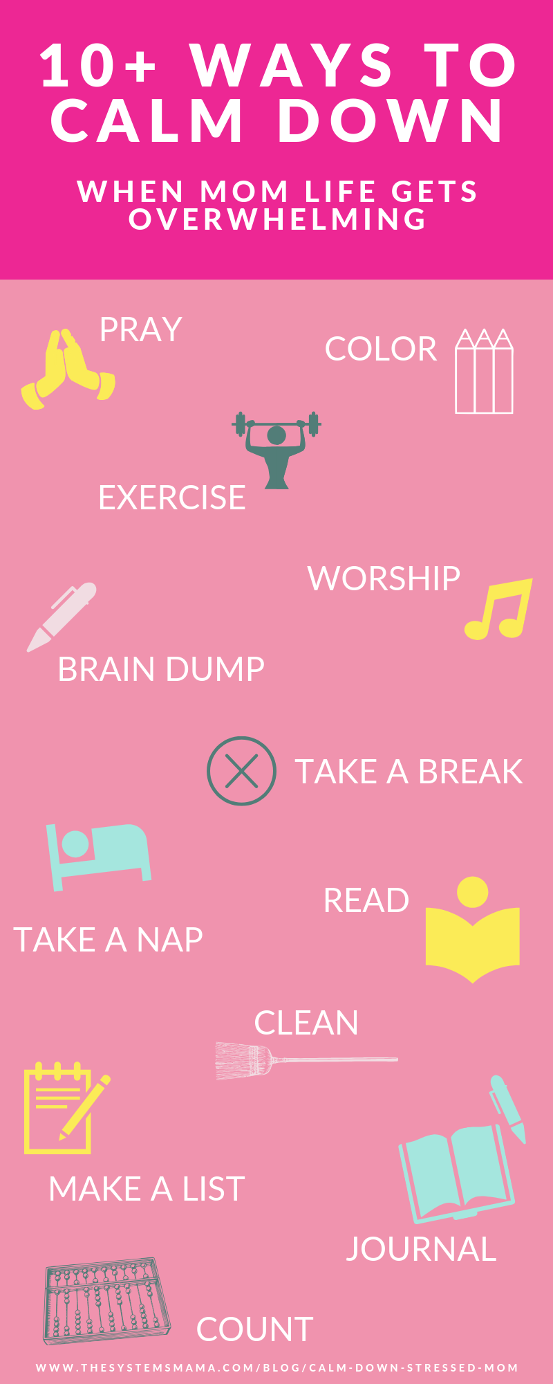things to do when mom life has you stressed and overwhelmed