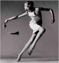 Veruschka, dress by Kimberly, New York, January 1967. Richard Avedon