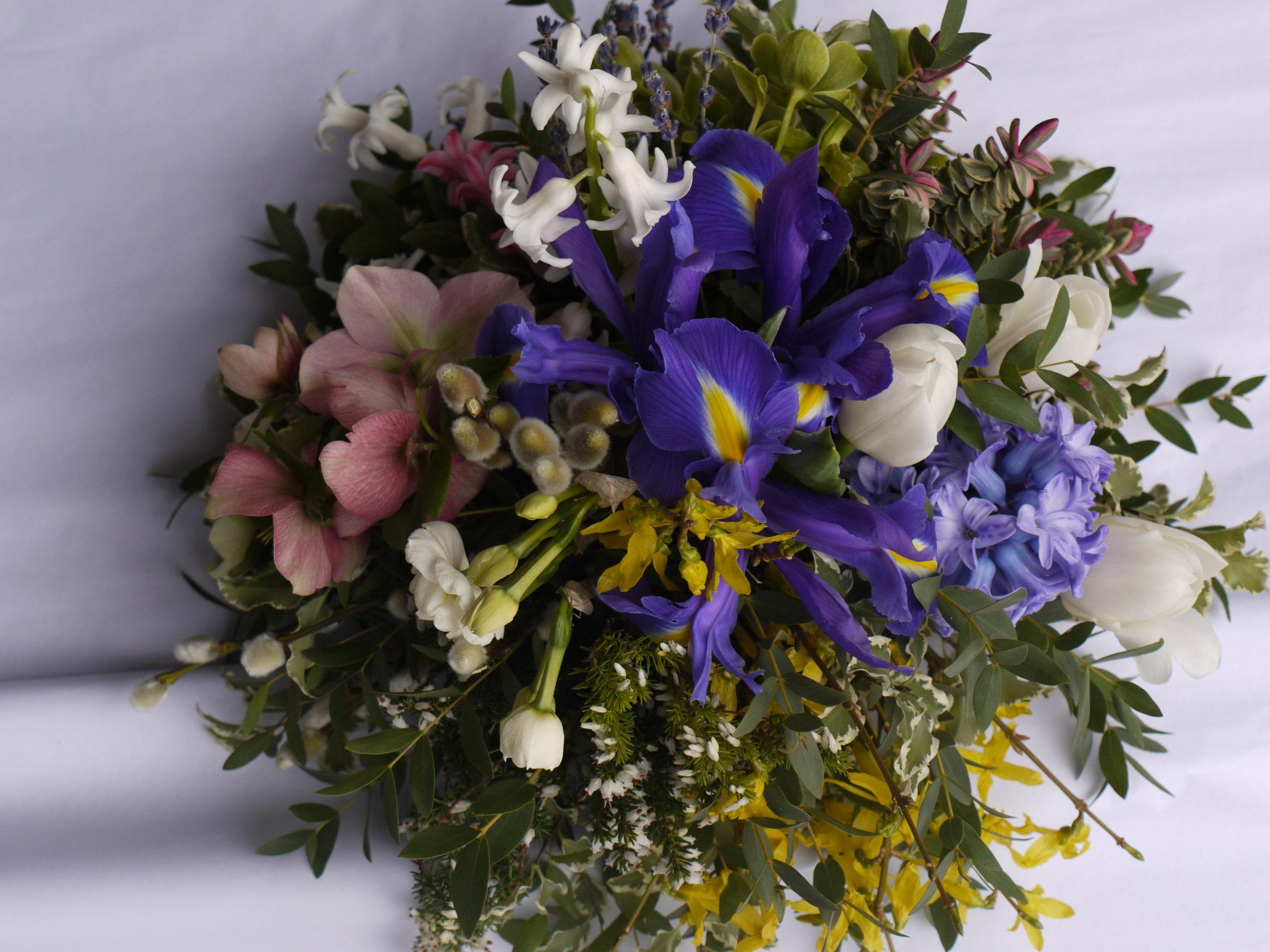 FLOWER BASKET WORKSHOP - £50