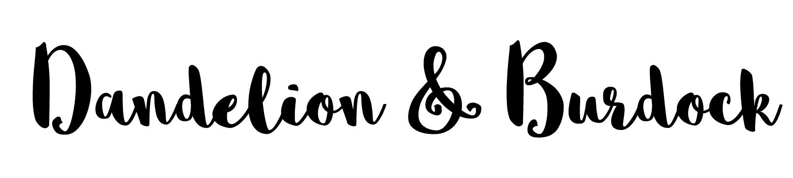 WEBSITE NAMES SCRIPT FONT-Dandelion and Burdockpng.png