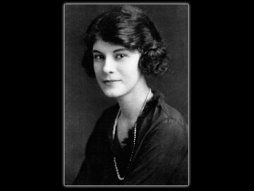 Jim's mother, Hortense Elizabeth Whittaker, 1921.  Whittaker Family Collection