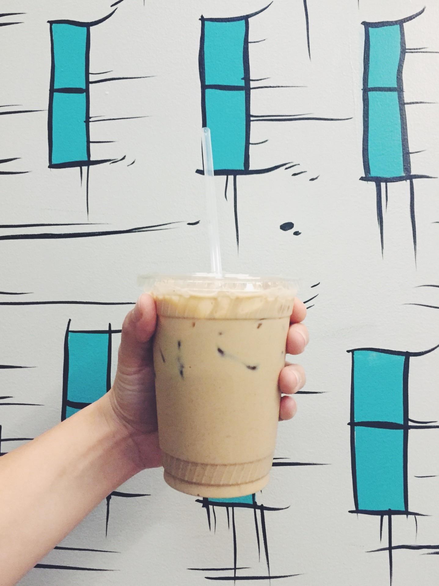 St. Clare Coffee's signature Thai Iced Coffee.
