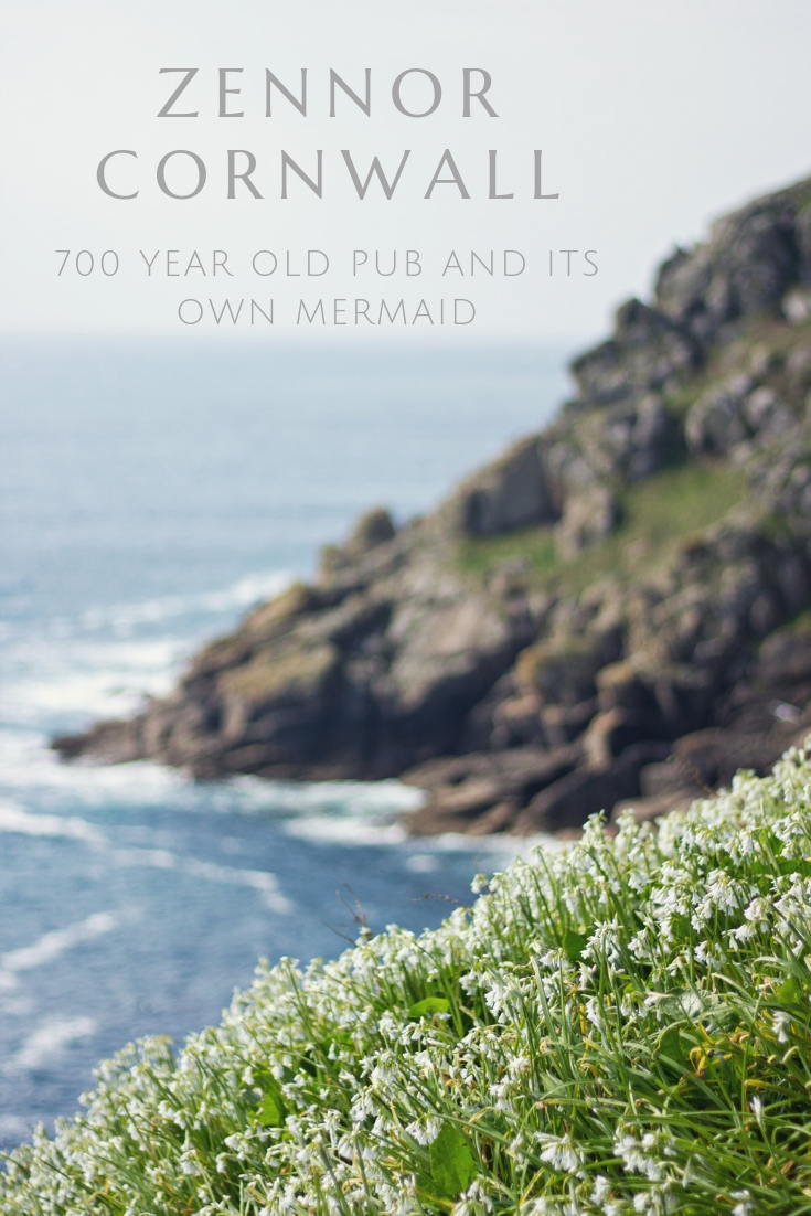 Zennor Cornwall 700 YEAR OLD PUB AND ITS OWN MERMAID