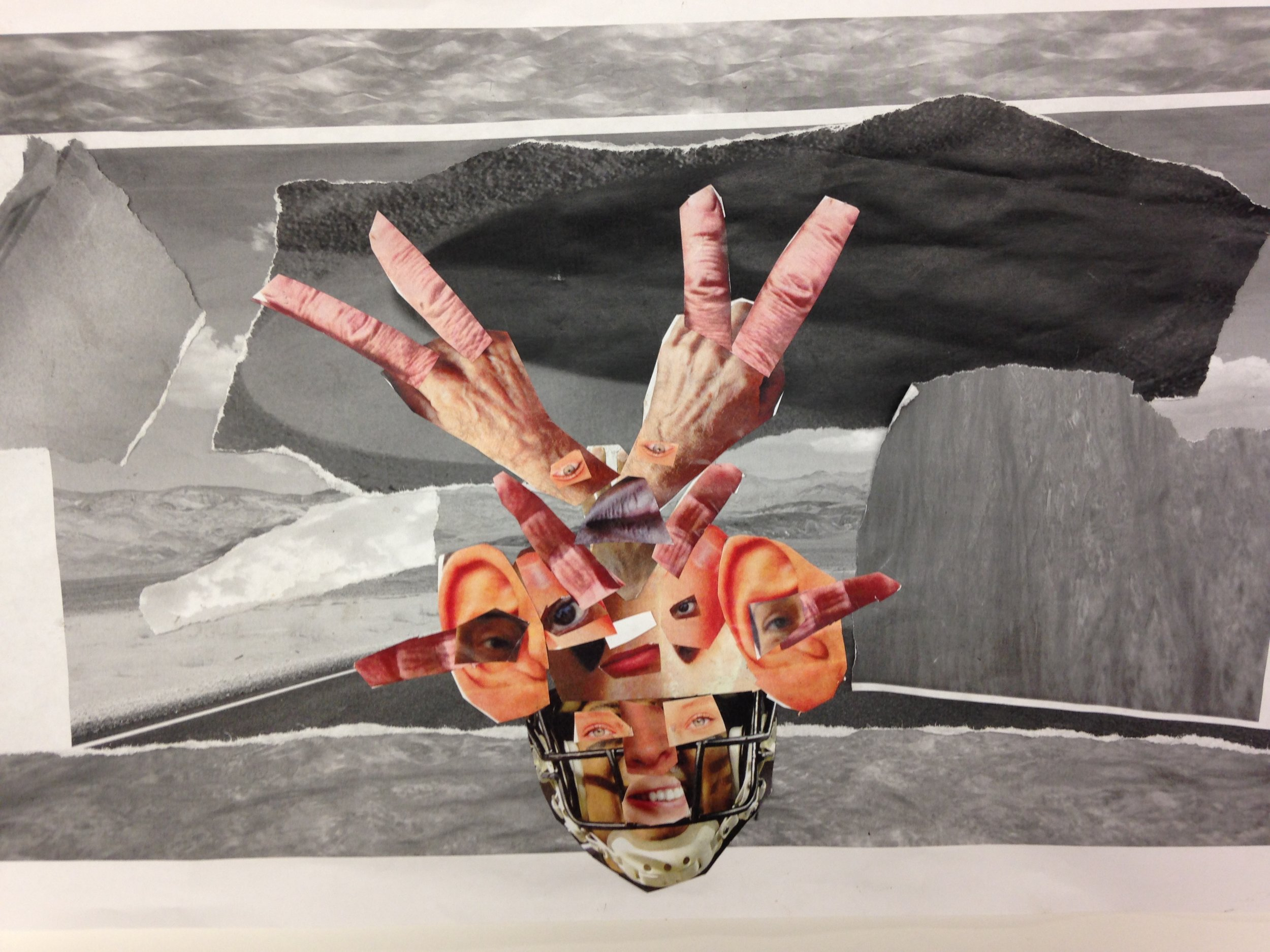 Ronav | 3rd Grade Student Work | Collage, 11x20""