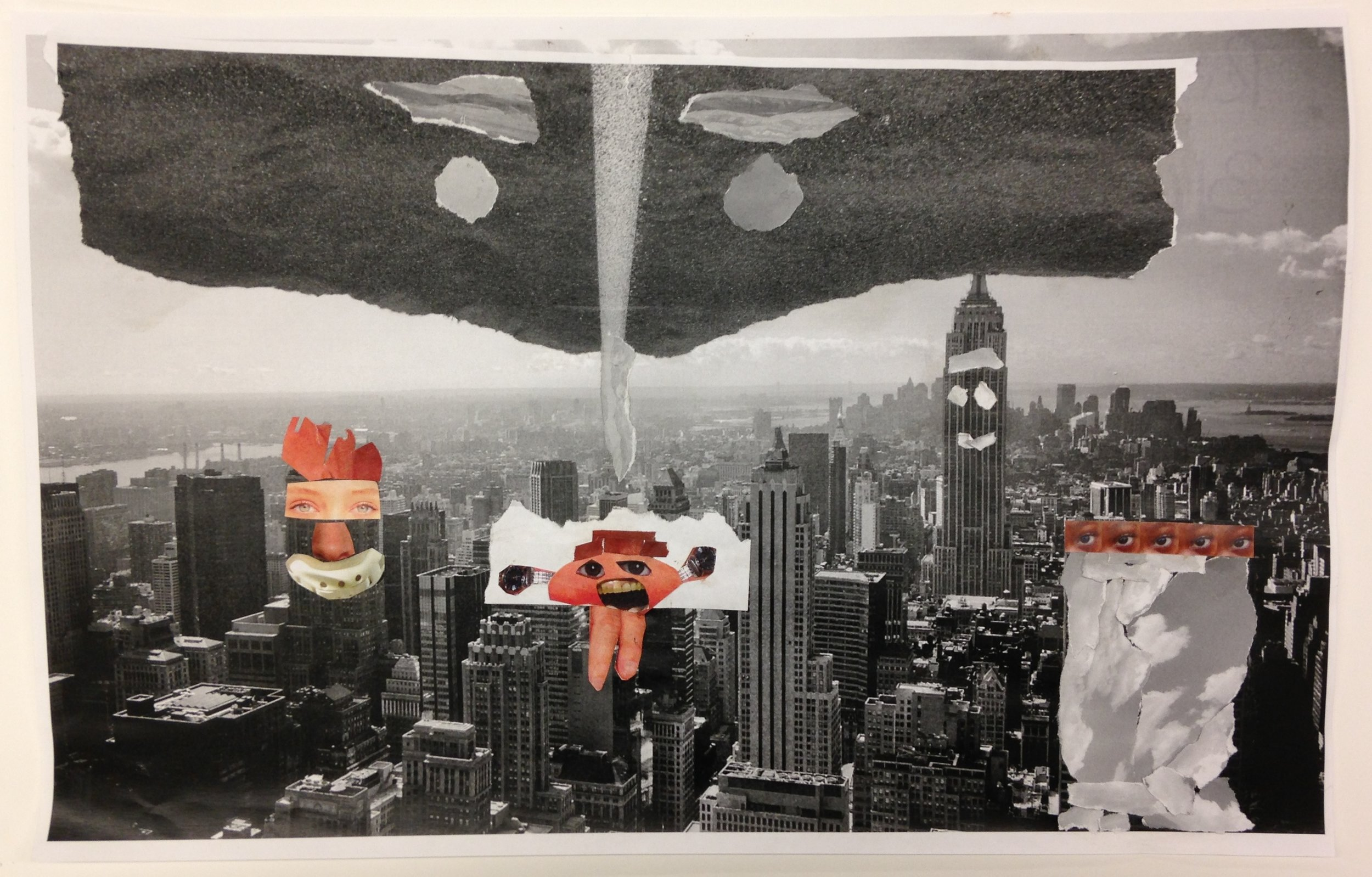 Riya | 3rd Grade Student Work | Collage, 11x20""