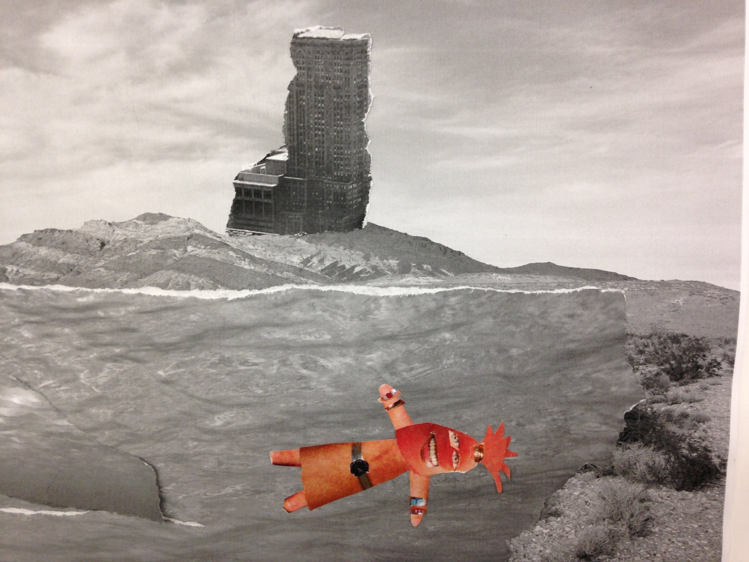 Chole | 3rd Grade Student Work | Collage, 11x20""