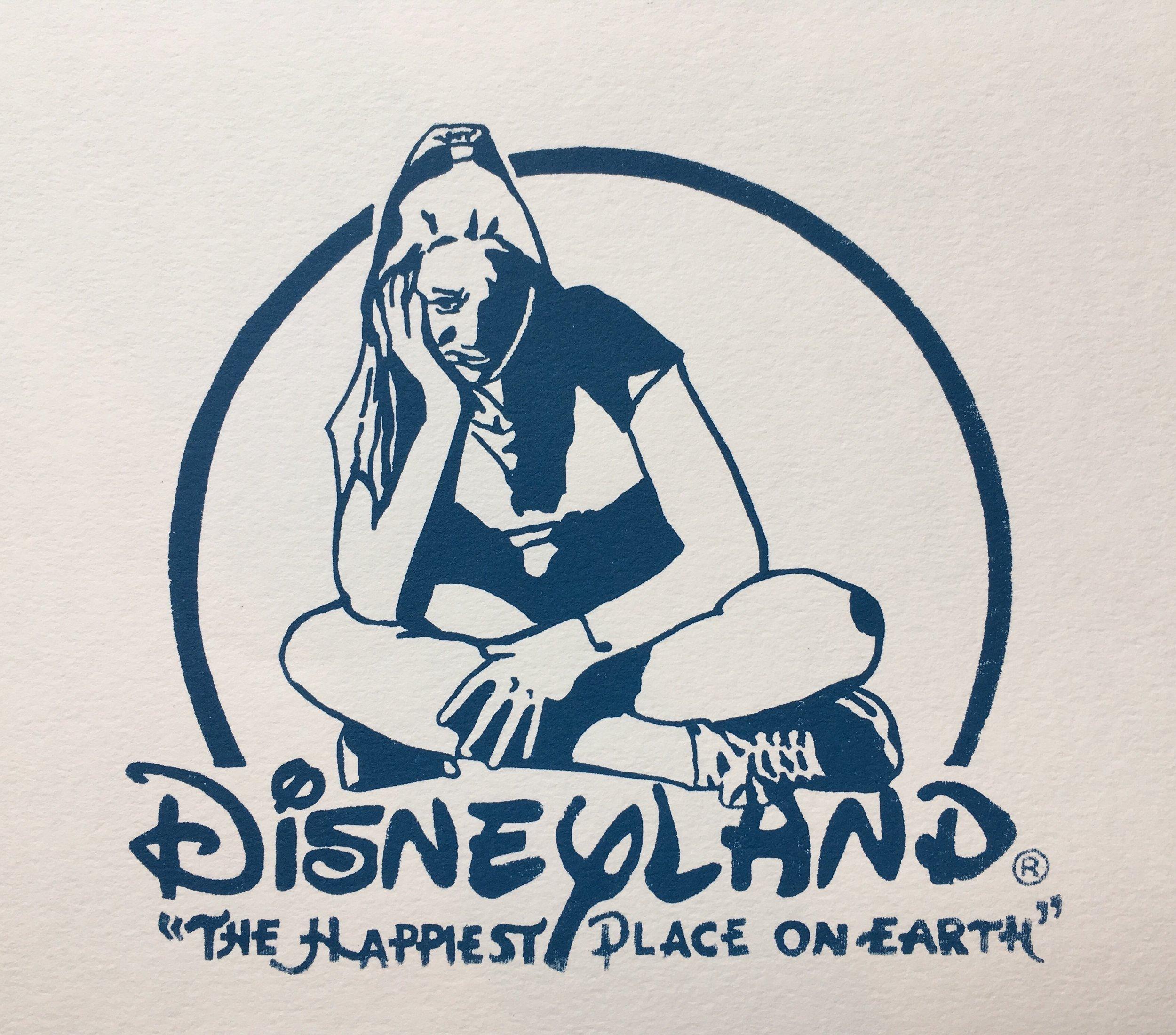 "The Real Disney | Screenprint, 5x7"""