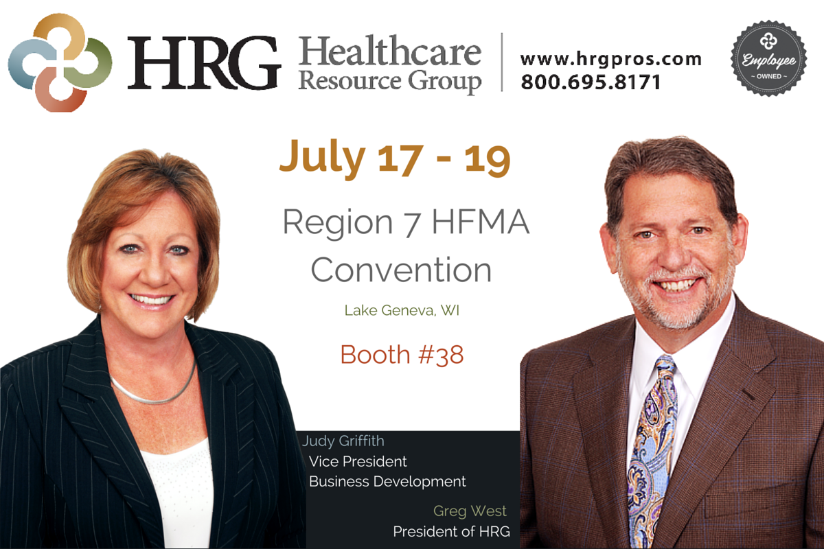 Greg West & Judy Griffith @ Region 7 HFMA July 17-19, 2016