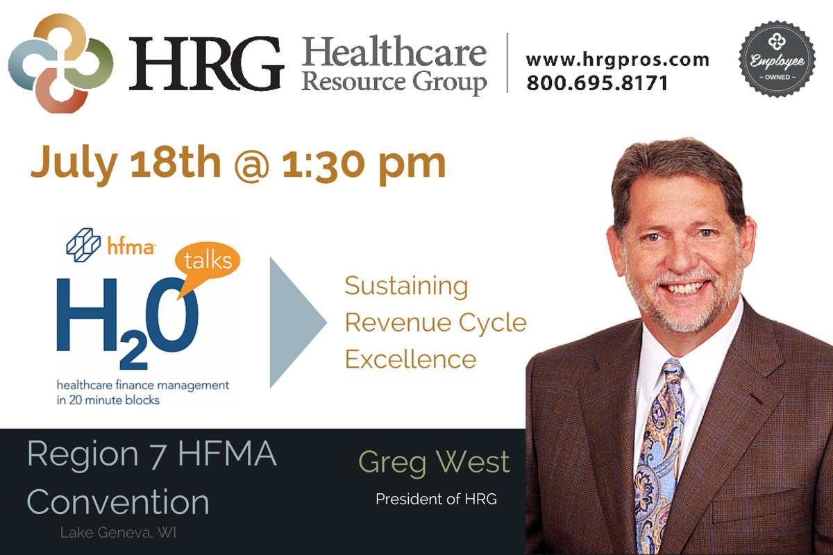 Greg West H2O Talks @ 1:30pm July 18, 2016