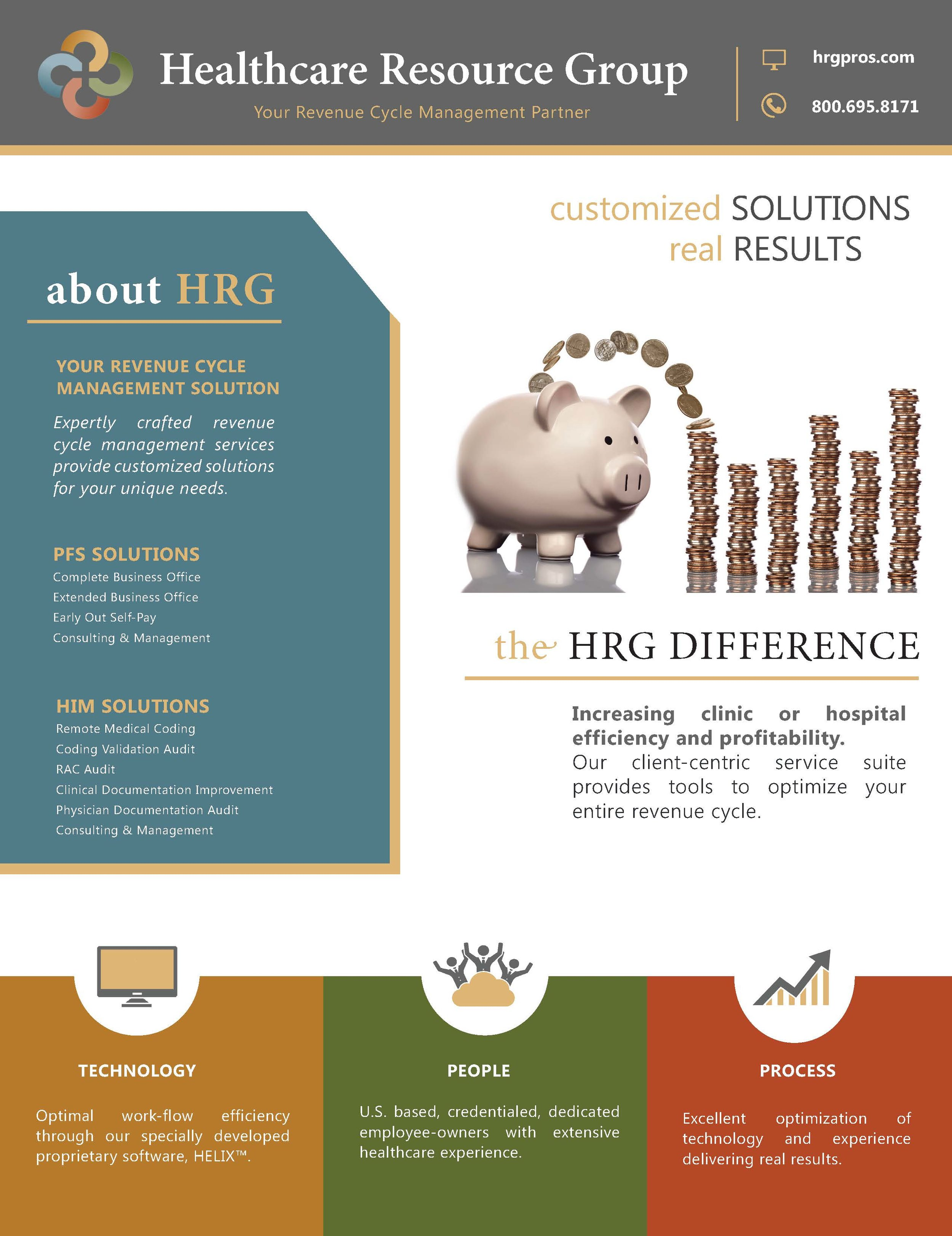 Revenue Cycle Management Customized Solutions & Real Results -Flyer