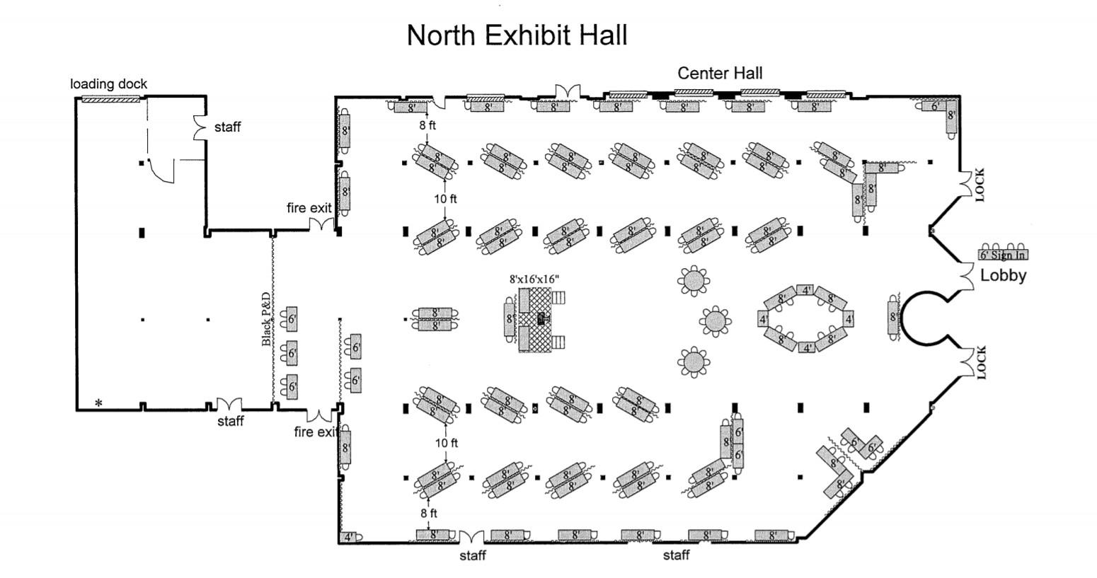 Columbus Trade Center - North Hall
