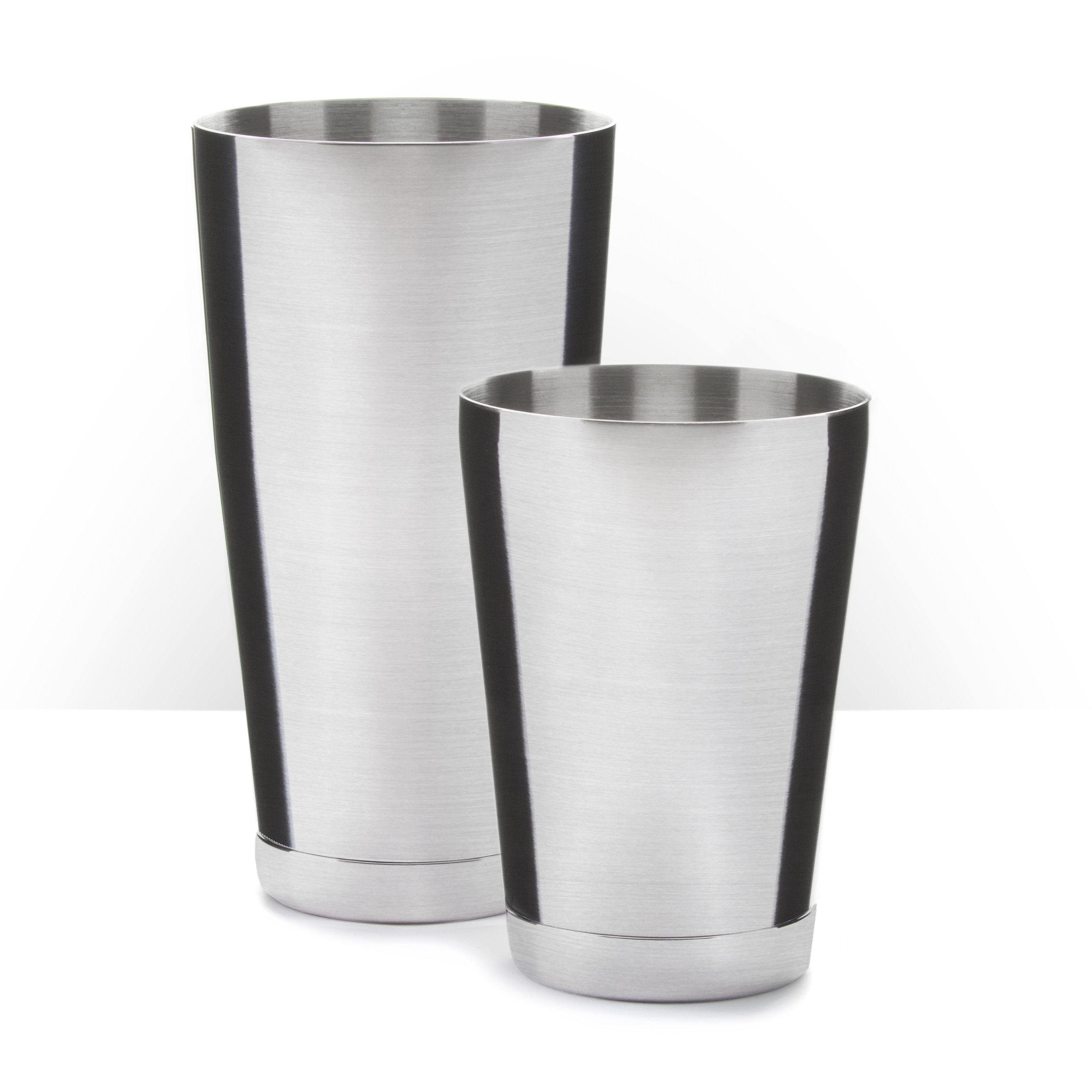 Founder's Tin Set - Brushed Stainless Steel, 28oz. & 18oz