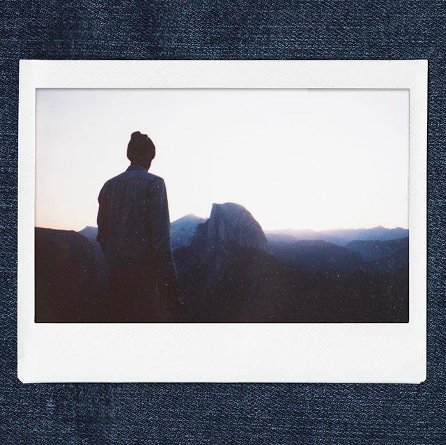 Yosemite National Park - August 2016 . . #instax210 #instaxwide #ibelieveinfilm #instantfilm #polaroid #yosemite #yosemitenationalpark #halfdome