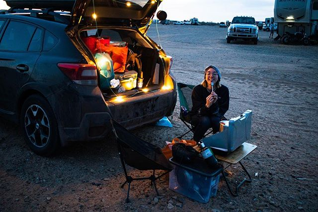 🏜 Canyon Tour: On the road and at the camp sites.