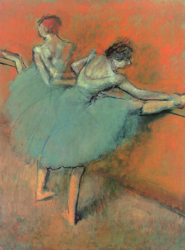 "ART PREVIEW: DEGAS' ""DANCERS AT THE BARRE"""