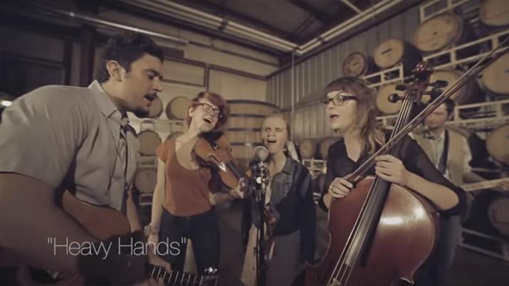 HEAVY HANDS [LIVE VIDEO]