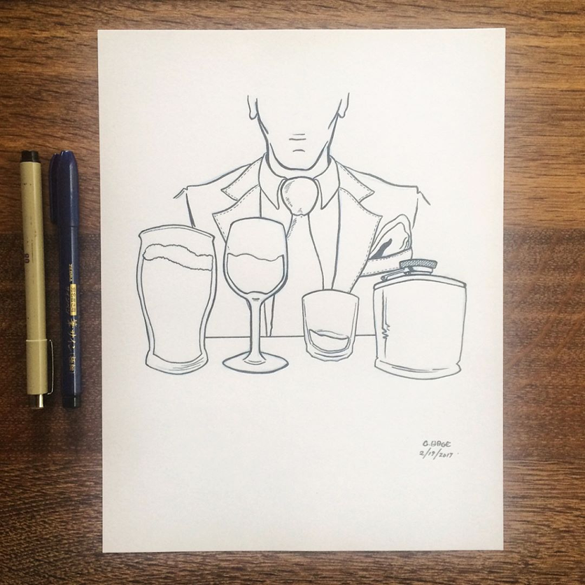 GeorgeHage_TheClassyAlcoholic-Ink.png