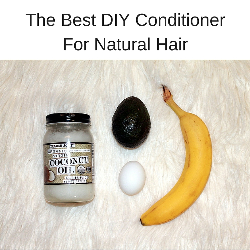 The Best DIY Conditioner For Natural Hair