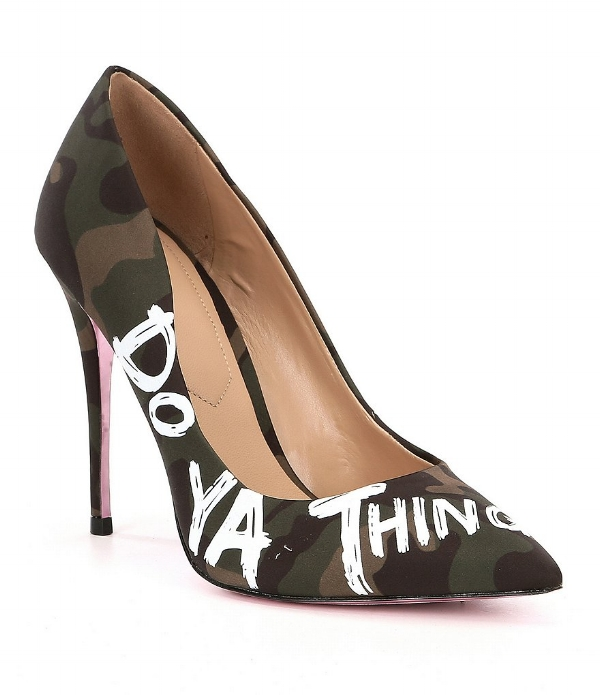 Aldo Dominya Camouflage 'Do Ya Thing' Pumps