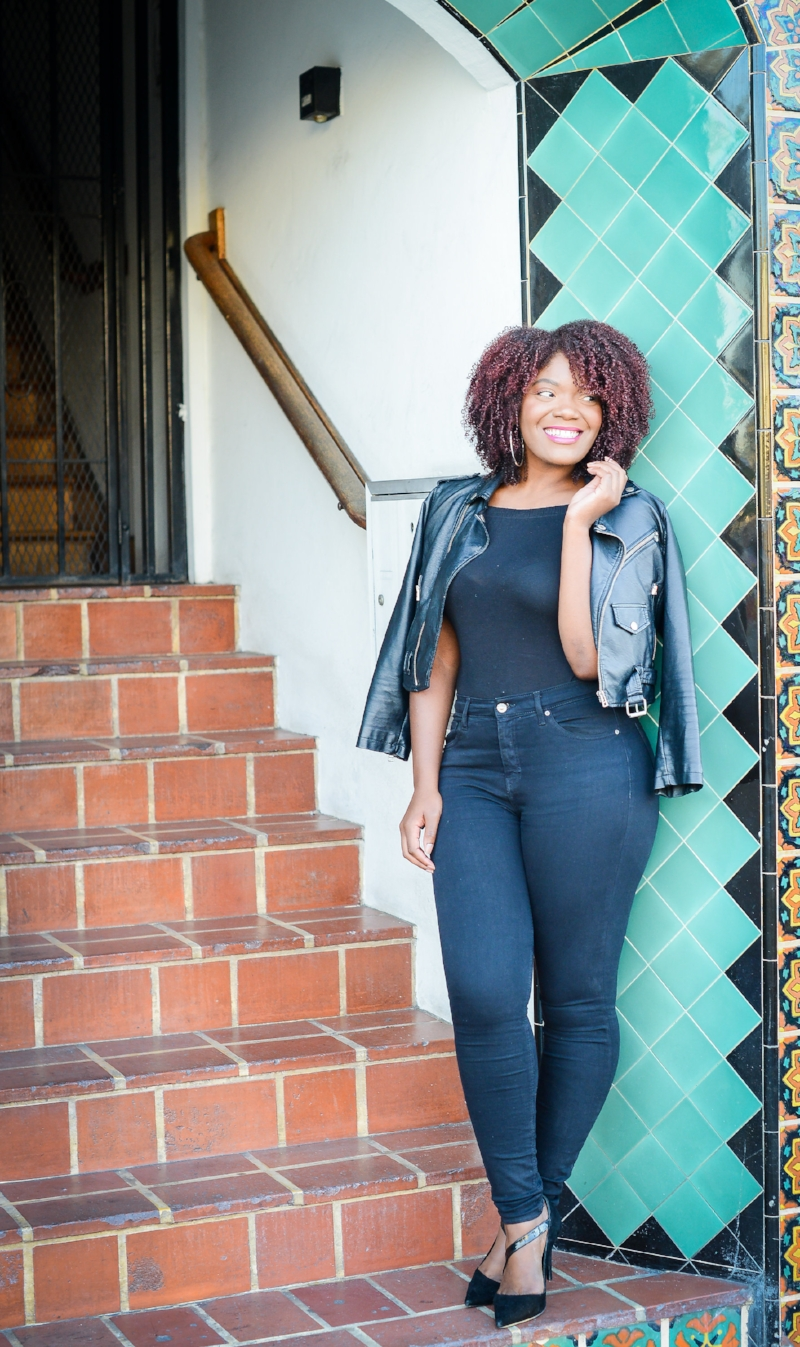 How To Wear A Moto Jacket In The Fall