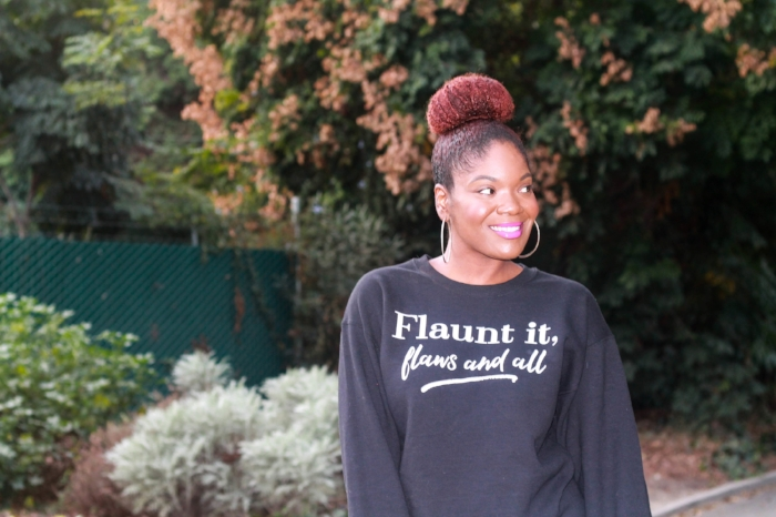 Flaunt It, Flaws And All Sweatshirt