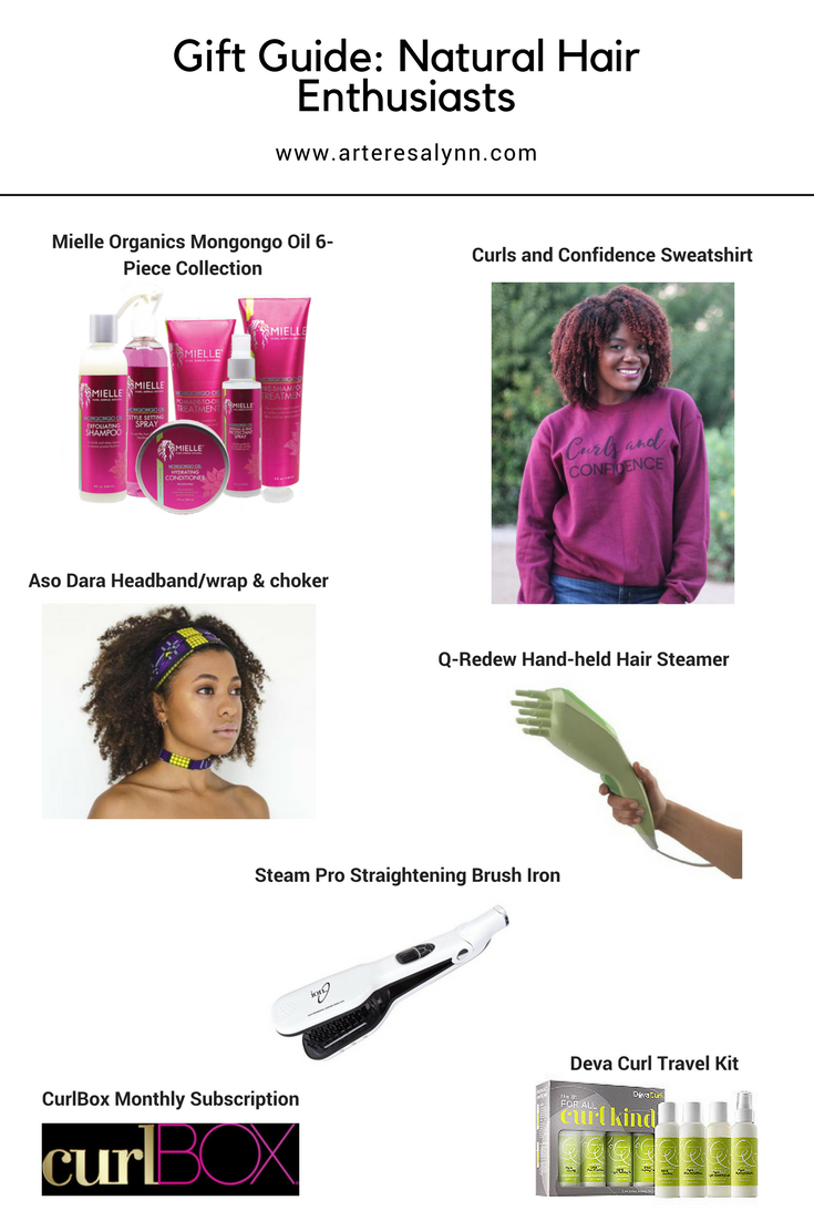 Gift Guide For The Natural Hair Enthusiast
