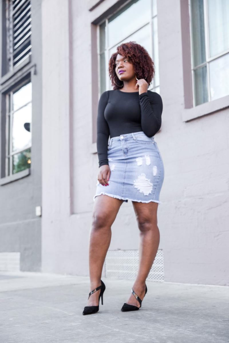 Everyday Basics Your Closet Needs: The Denim Skirt