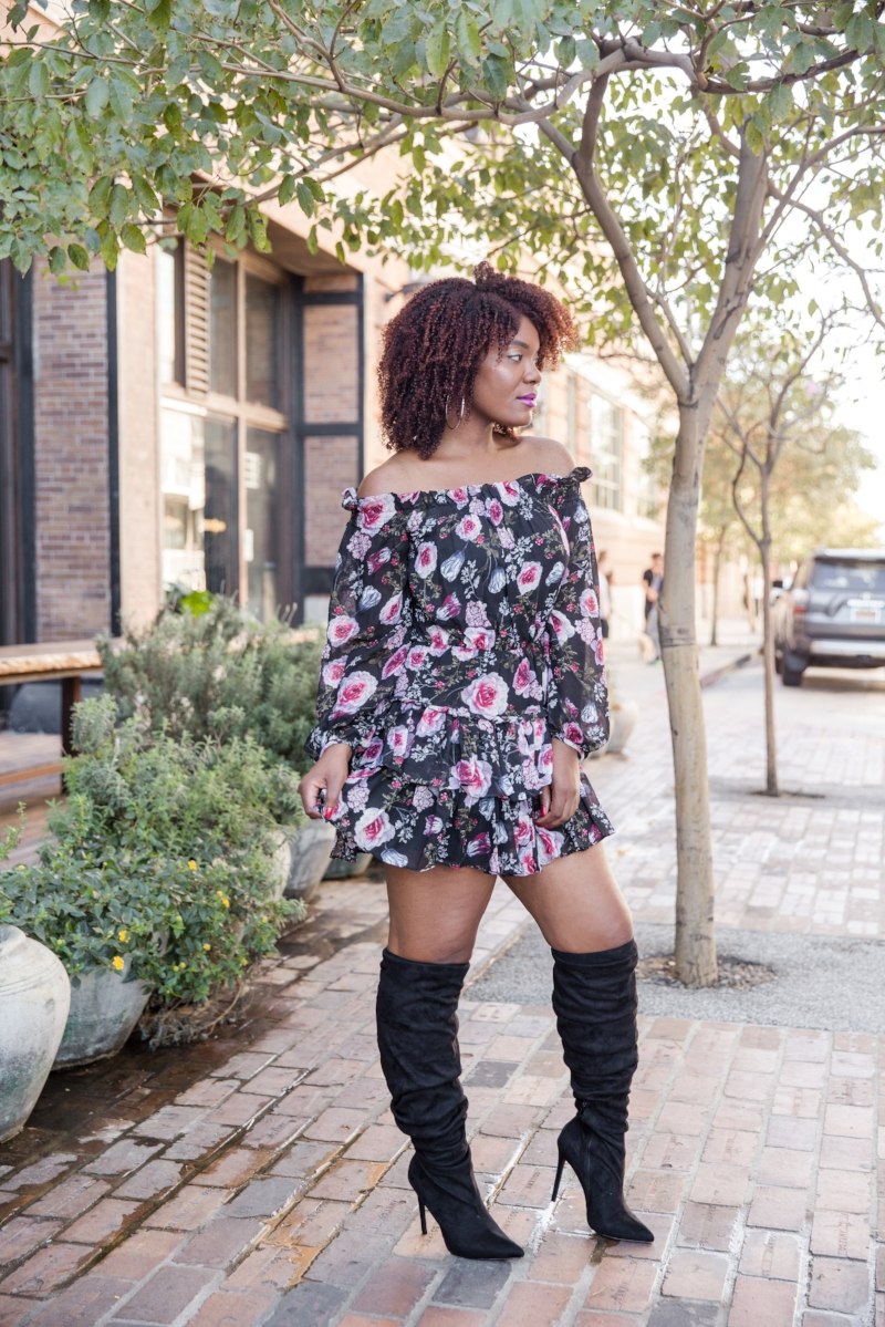 How to wear spring florals