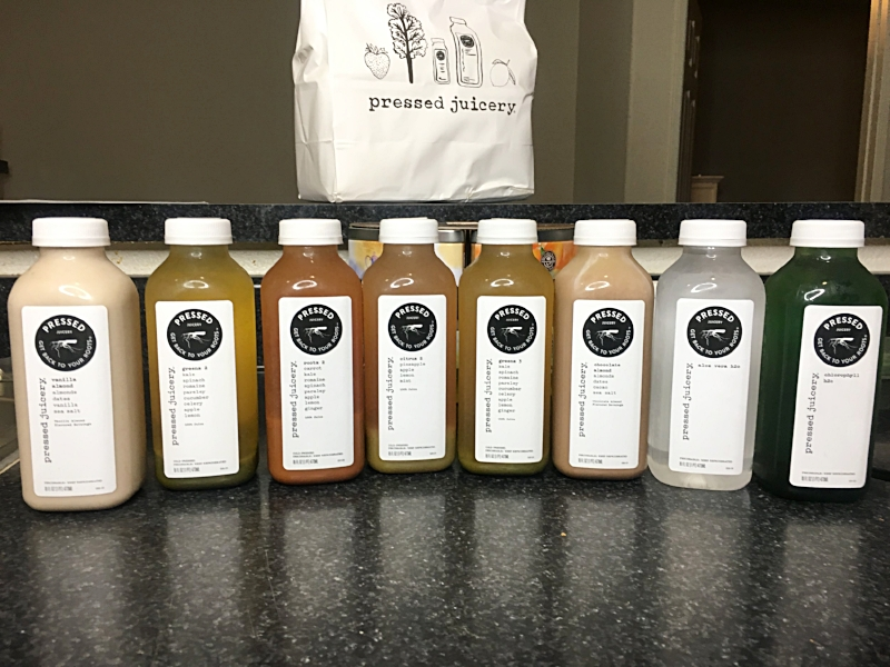 Pressed Juicery 3-Day Cleanse Review and Experience
