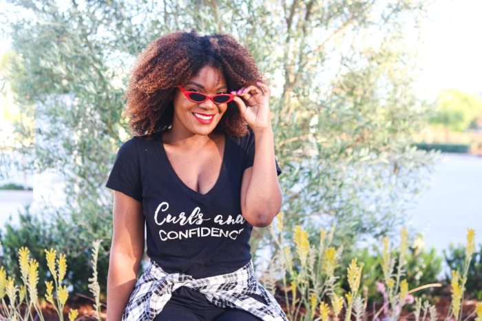 Natural Hair Vlogger - Curls and Confidence