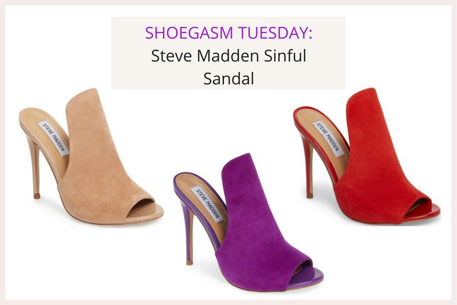 SHOEGASM TUESDAY_ Steve Madden Sinful Sandals