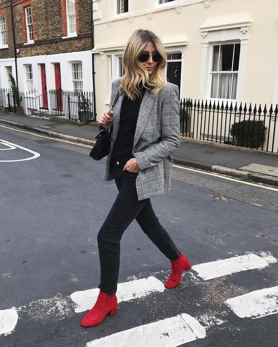 Red Boot Outfit Inspiration