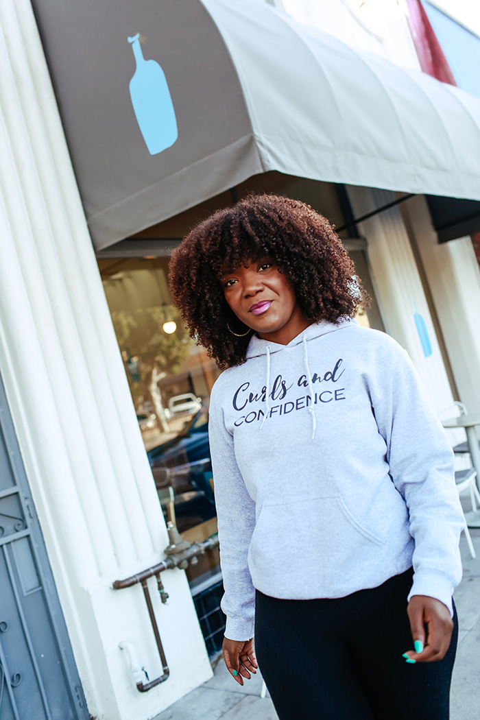 Curls and Confidence Hoodie
